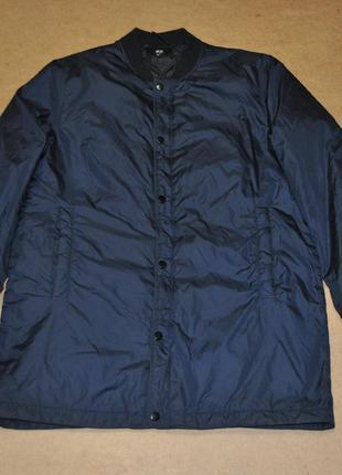 H&m удлиненный бомбер куртка мужская стильная