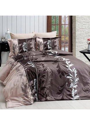 Комплект  постельного  белья «Витражи  коричневые»