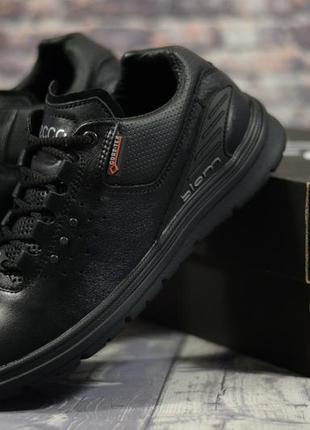 Качество люкс мужские кожаные кроссовки