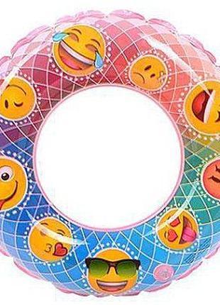 Классный круг emoji (смайлы) Bestway 80см.
