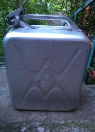 Канистры алюминиевые 20 литровые