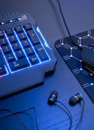 The G-Lab Combo Helium Игровой набор Клавиатура+мышь+наушники+ков