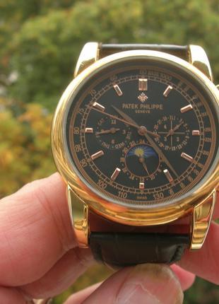 Часы Patek Philippe Perpetual Black
