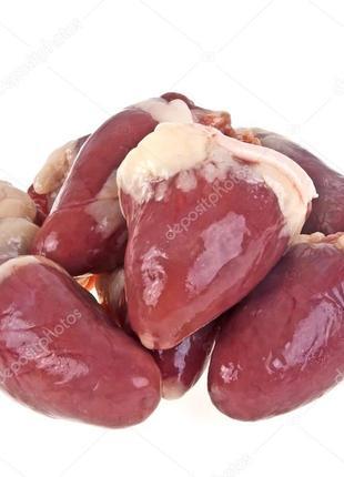 Сердце кур.1кат. охлаждённое/Крупный/Мелкий/ОПТ