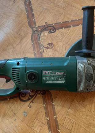 Болгарка DWT WS-230 DS 2,2кВт