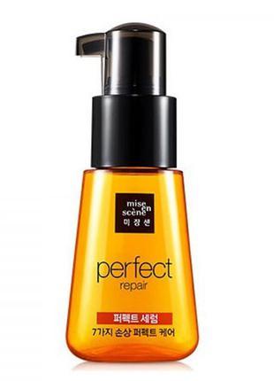 Сыворотка-масло для поврежденных волос mise en scene