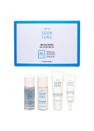 Набор по уходу за проблемной кожей etude house soon jung