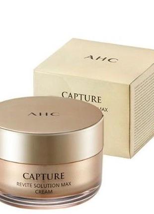 Оживляющий антивозрастной крем для лица a.h.c capture revite s...
