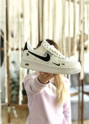 Крассовки nike air force 1 utility white