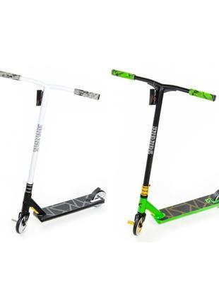 Самокат трюковый Explore Leidart Pro New Черный Зеленый