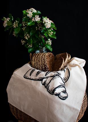 "Хлебница текстильная ""Молочная"""