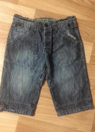 Шорты бриджи мужские джинсовые