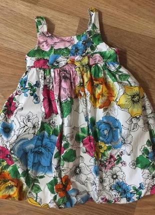 Детское летнее платье сарафан marmellata