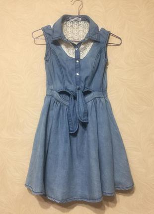 Платье летнее для девочки 9-10 лет