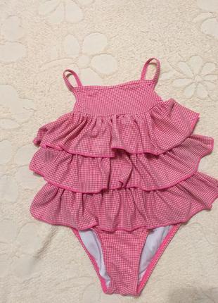 Купальник детский для девочки 3-4 года