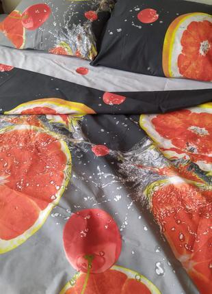 Постельное белье, фрукты! постіль