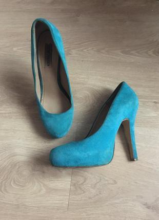 👠 туфли замшевые