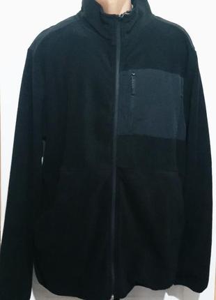 Флисовая спортивная куртка воркаут.