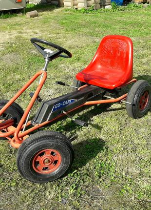 Карт Веломобиль Педальная машина веломашина FERBEDO педальна маши