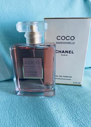 Парфюмерная женская вода  coco mademoiselle chanel paris  100 мл