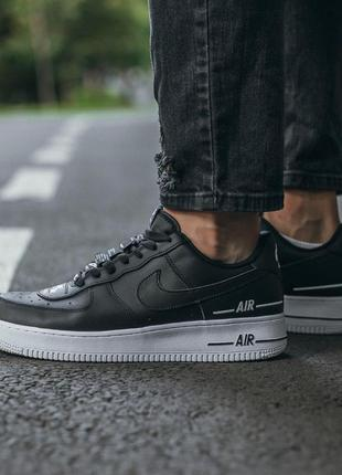 Кроссовки nike air force black