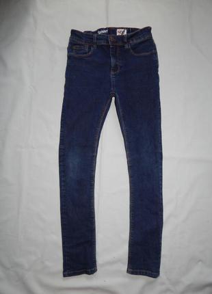 Джинсы модные skinny на мальчика 12 лет 152 см