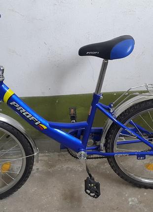"Детский велосипед PROFI 20""(синий)"