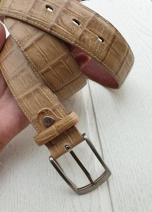 Мужской итальянский кожаный ремень