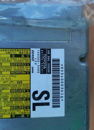 Блок управления airbag на lexus rx 350