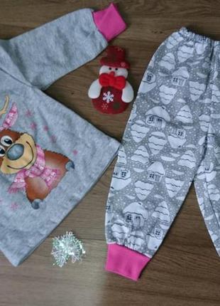 Пижама детская олень рудольф