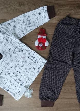 Пижама детская на планке с кнопками