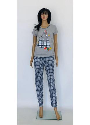 Домашний костюм пижама с крысой