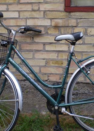 Б/у велосипед з Бельгії на зріст 155-195см 6 передач кол. 28д Киє
