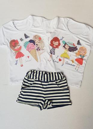 Комплект на лето девочке