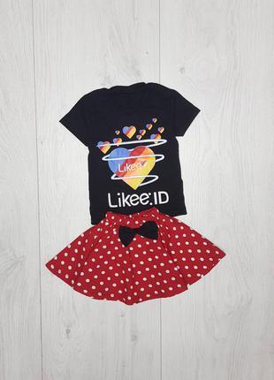 Лёгкий и модный комплект для девочки