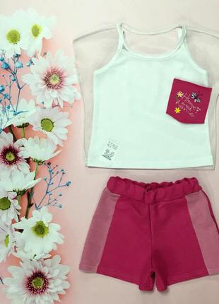 Летний комплект для маленьких модниц