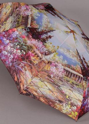 Зонт женский полуавтомат magic rain 4224 цветущая италия