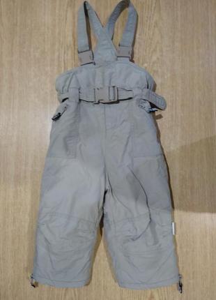Классные зимние штаны klitzeklein полукомбез