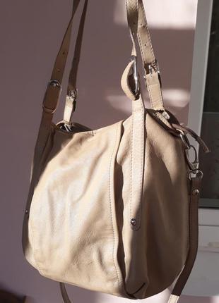Женская сумка кожа.