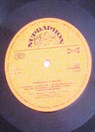 Spiritualy a balady 1978