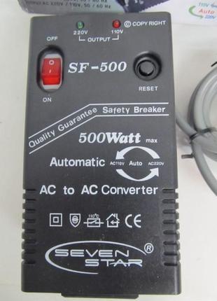 Преобразователь напряжения Seven Star SF500 500W Трансформатор