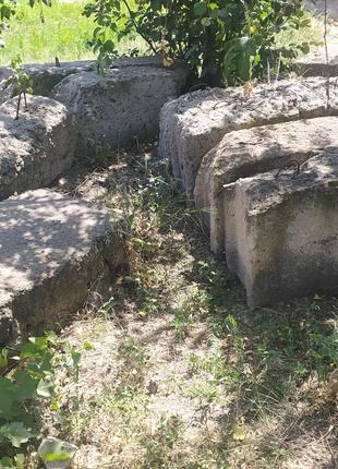 Фундаментные бетона блоки