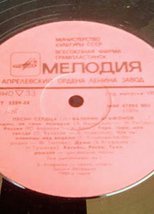 Валерий Агафонов Песни Сердца