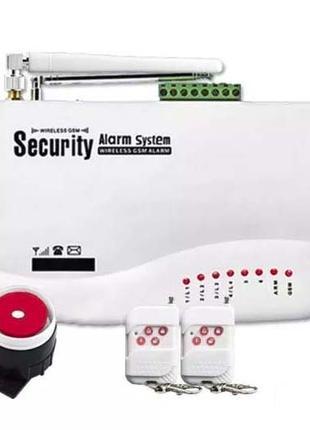 Домашняя Охранная GSM Сигнализация ( комплект )
