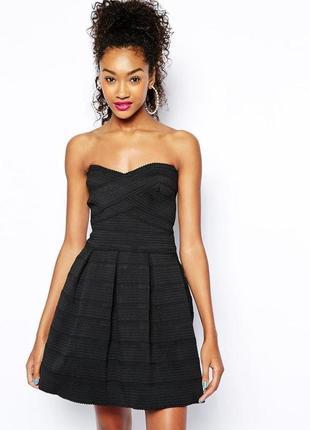 Стильное коктейльное бандажное платье №49max