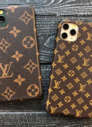 Чехлы LOUIS VUITTON для iPhone 7/8/SE 2, 7/8+, XS, ХS Max, Xr, 11