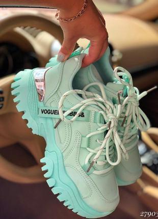❤ женские мятные кроссовки ❤