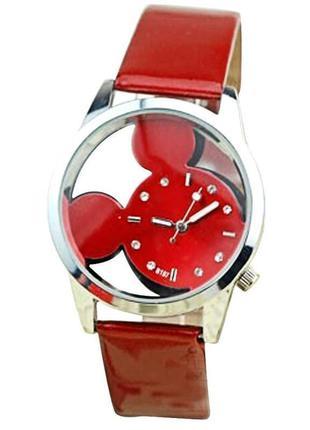 Часы наручные женские красные