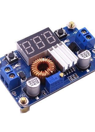 Регулятор напряжения DC-DC с индикатором, XL4015