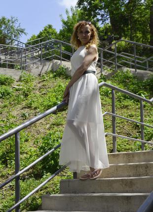 Летнее длинное платье